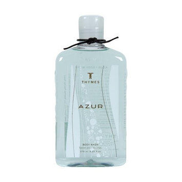 Thymes Body Wash, Azur, 9.25-Ounce Bottle