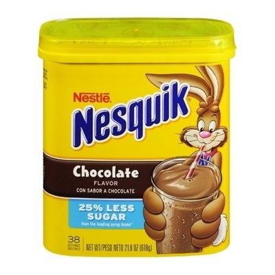 Nestlé Nesquik Chocolate Flavor 25% Less Sugar