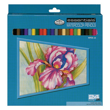 Royal Brush Manufacturing Watercolor Pencils 24/Pkg-Assorted