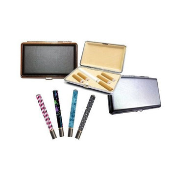 Gaming Concepts Electronic Cigarette Carry Case PLUS E-cig skin! (Best in Class! Fits e-cigs up to 4-1/4