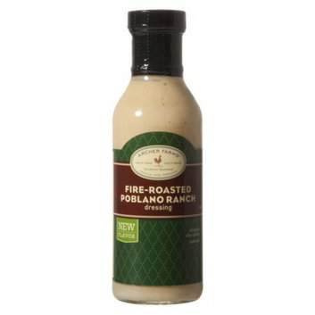 Archer Farms Fire-Roasted Poblano Ranch Salad Dressing - 12 oz.
