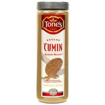 Tones Tone's Ground Cumin - 16 oz. shaker