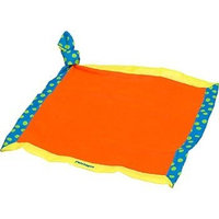 Petstages Doggy Security Blanket Red Yellow and Blue Dog Soothing Toy