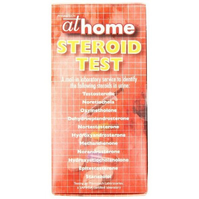 At Home Steroid Test, 1-Count Box