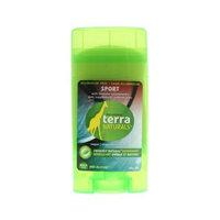 Terra Naturals Deodorant Stick, Sport, A/F, 60 gr ( Multi-Pack)