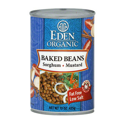 Eden Baked Beans With Sweet Sorghum