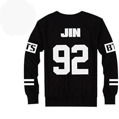 Allkpoper BTS Bangtan Boys Black Hoody Sweater Pullover []