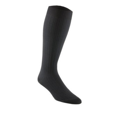Sigvaris 185CB00 Samson Classic Dress 15-20mmHg Closed Toe Men's Sock Size: B (9-11), Color: White 00