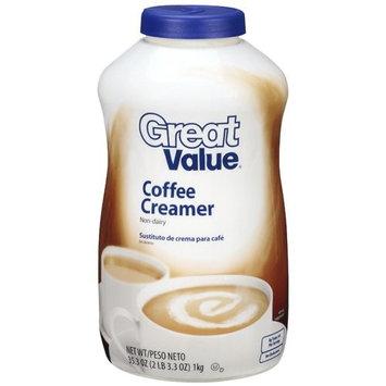 Great Value: Coffee Non-Dairy Creamer, 35.3 Oz