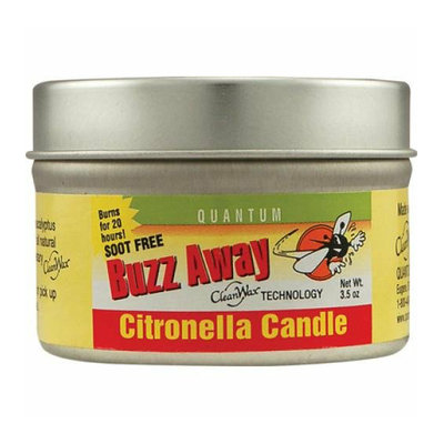Quantum Research Quantum Buzz Away Citronella Candle 3.5 oz