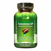 Irwin Naturals Testosterone Up, Softgels, 60 ea