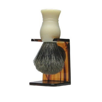 Porter's Badger Shave Brush with Stand