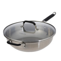 Calphalon Kitchen Essentials from  Stainless Steel Jumbo Frying Pan -