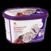 Ahold Frozen Yogurt Pomegranate Blueberry Granola