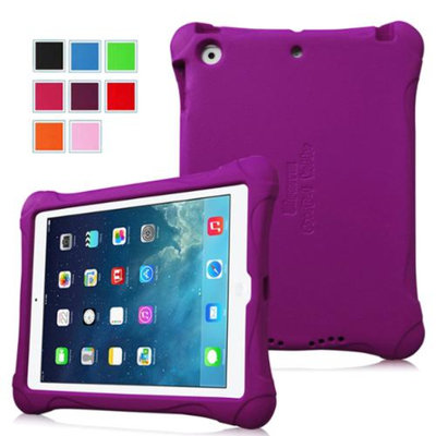 Fintie Kiddie Case - Ultra Light Weight Shock Proof Kids Friendly Cover for iPad Air (iPad 5 5th Generation), Purple