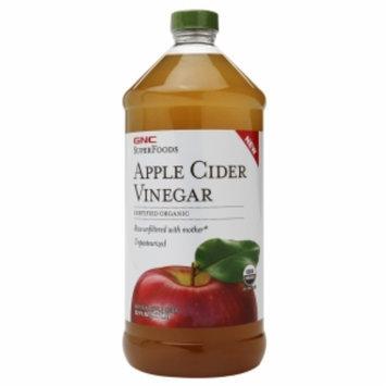 GNC SuperFoods Certified Organic Apple Cider Vinegar