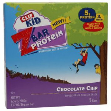 Clif Kid Z Bar Protein, Chocolate Chip, 5 ea