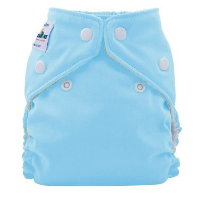 FuzziBunz Perfect Size Cloth Diaper, Tootie Frootie, Large 25-40+ lbs