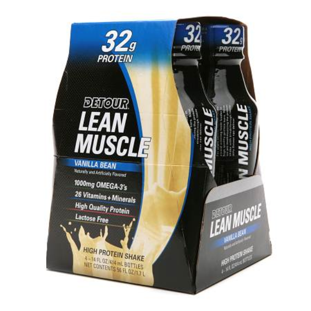 Detour Lean Muscle High Protein Shake