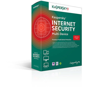 KASPERSKY Kaspersky Internet Security Multi-Device, 5 Users (PC/Mac/Android)