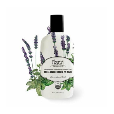 Nourish Organic™ Body Wash Lavender Mint