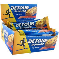 Detour Runner Energy Bar- chocolate chip cookie