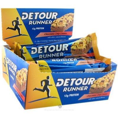 Detour Runner Energy Bar- chocolate chip cookie