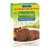 MorningStar Farms® Original Sausage Patties