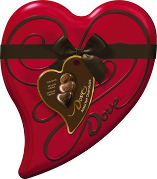Dove Chocolate Assorted Chocolates Premium Heart Tin