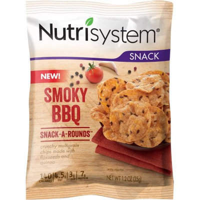 Generic Nutrisystem Smoky BBQ Snack-a-Rounds, 1.2 oz, (Pack of 8)