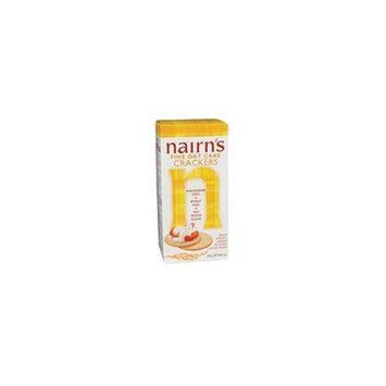 Nairns Nairn's Fine Milled Oat Cake Cracker 8.8 oz. (Pack of 12) ( Value Bulk Multi-pack)