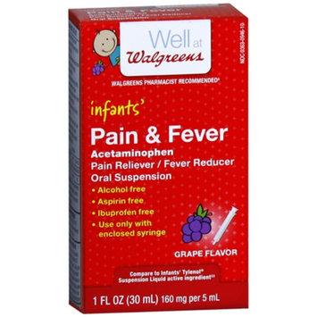 Walgreens Acetaminophen 160Mg Infant Grape Suspension