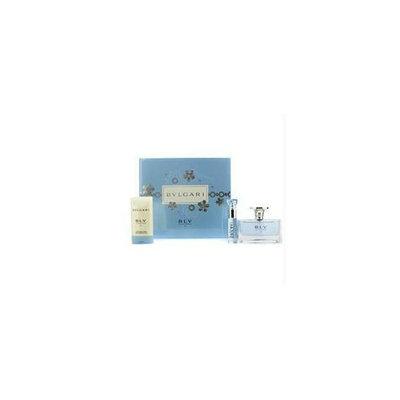 Bvlgari 15089335014 Blv II Coffret: Eau De Parfum Spray 50ml-1. 7oz + Eau De Parfum Spray 10ml-0. 34oz + Bath & Shower Gel