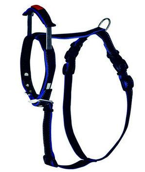 Petedge ZX5000 18 17 PatentoPet Harness Short Leash Lrg Black