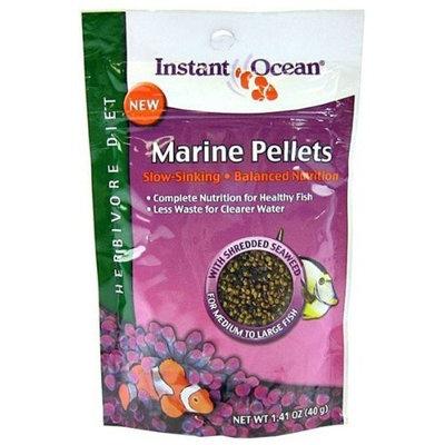 Aquarium Systems Instant Ocean Marine Pellet Herbivore 40 Gram