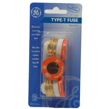 Ge GE 20 Amp Time Delay Fuse - JASCO