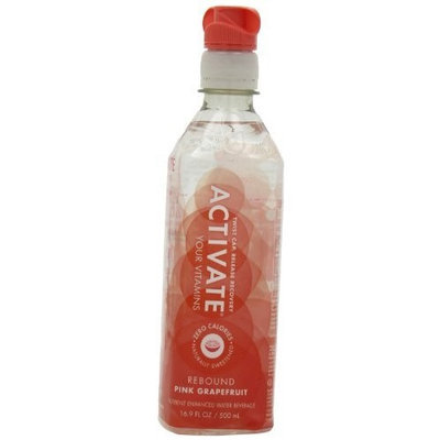 ACTIVATE Rebound, Pink Grapefruit, 16.9-Ounce Bottles (Pack of 12)