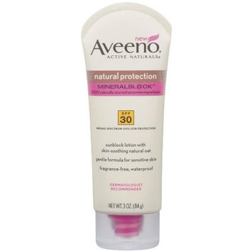 Aveeno® Natural Protection Sunblock SPF 30 Lotion