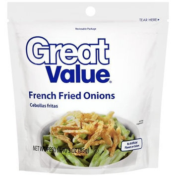 Great Value French Fried Onions, 3 oz