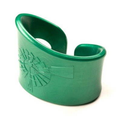 Roundhouse Design Collaborative Oh Plah Teething Bracelet, Clover Green