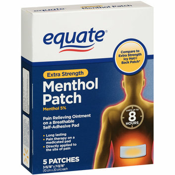 Equate Extra Strength Menthol Patch