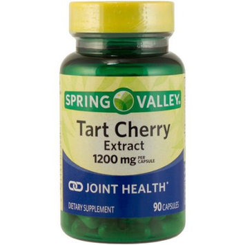 Spring Valley Tart Cherry Extract Dietary Supplement, 1200mg, 90 count