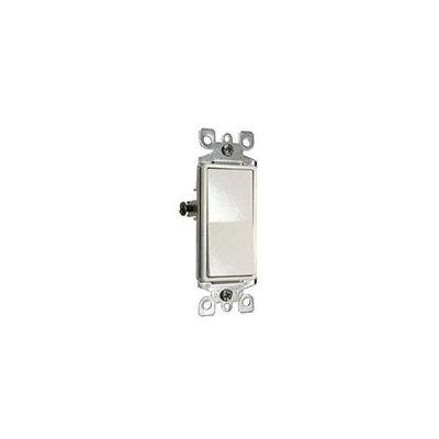 Leviton 104-5611-2WS White Residential Grade Decora AC Quiet Switch Rocker