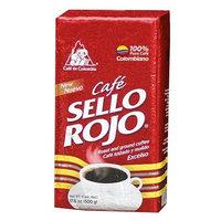 Sello Rojo Roast & Ground Coffee, 17.6-ounce Brick