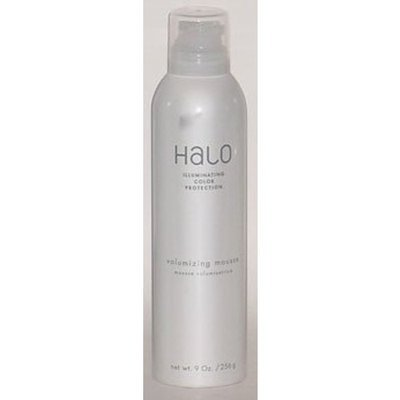 Halo by Graham Webb Volumizing Mousse Illuminating Color Protection 9oz