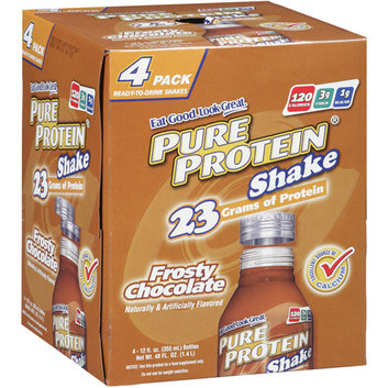 Pure Protein Frosty Chocolate Shakes