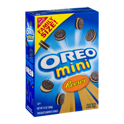 Oreo Mini Reese's Peanut Butter Sandwich Cookies