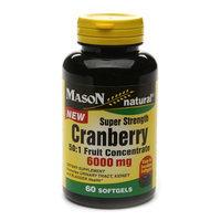 Mason Natural Cranberry Super  Strength 6000mg 50:1