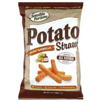 Sensible Portions, Straw Potato Sweet Bbq, 7 OZ (Pack of 12)