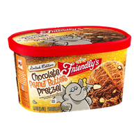 Friendly's Premium Ice Cream Chocolate Peanut Butter Pretzel